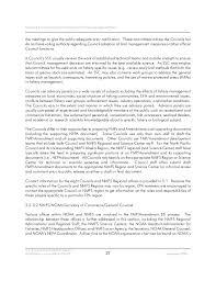 Epa Region 3 Organizational Chart Environmental Impact Statements For Fishery Management Plans