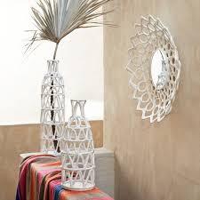 on paper mache wall art diy with papier mache vases west elm