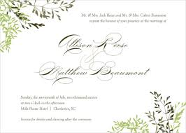 Free Downloadable Wedding Invitation Templates 100 Fall Wedding Invitation Templates Free Sample Example Format 30