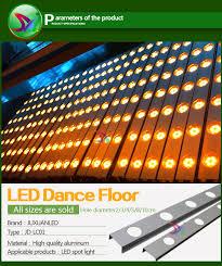 removable dance floor aluminum edge for dance floor dance floor material