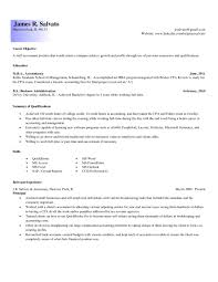 Gallery Of Entry Level Accounting Resume Examples