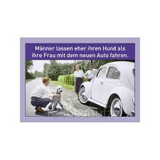 Postkarten Sprüche Hund Und Auto