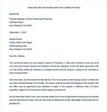 termination letter template 9 lease termination letter template landlord termination of lease