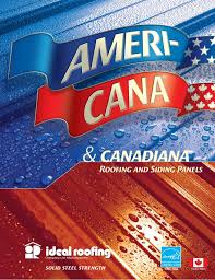 Ideal Roofing Americana Color Chart Ameri Cana Standing Seam By Ideal Roofing Brochure