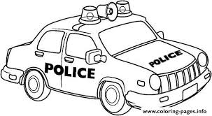Small Picture Newyork Police Car Coloring Pages Printable