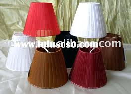 stupendous red chandelier shades