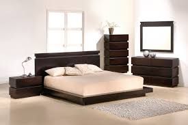 dark brown Wooden Single Bed with beige bed sheet added by grey fur
