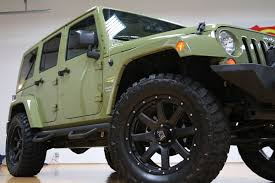 2018 jeep wrangler unlimited moab sahara lifted mando green saddle navigation you