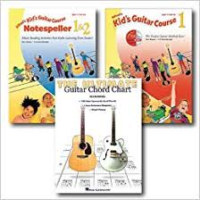 Amazon Com Kids Learn To Play Guitar Pack 3 Book Set