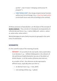 Ch 4 A Handbook Of Present Day English Riassunto Docsity