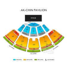 Ak Chin Pavilion Seating Chart With Seat Numbers 40 Unfolded Ak Chin Pavilion 3d Seating Chart