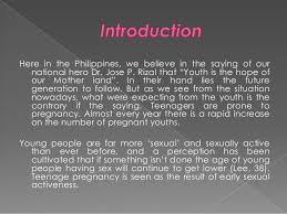 causes of teenage pregnancy 3