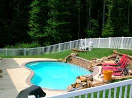 inground pools with rock waterfalls. 101 Pool Project; Inground Pools With Rock Waterfalls W