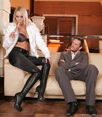 Mandy Dee gets a cumshot on her big tits after hardcore ass.