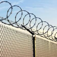 Razor barbed Wire fence Concertina wire Alambre Navaja WM WIRE
