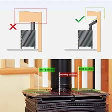 Stromloser Ventilator Für Kamin Holzöfen öfen 4 Flügel Rotorblätter Kamin Ventilator Ofenventilator Feuerstelle Kaminöfen Ofen Fan Ohne Strom