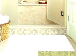 bath runner 60 inch bath rug co memory foam