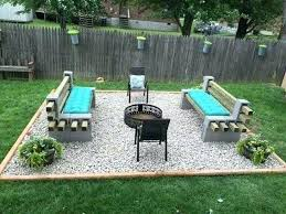 outdoor fire pit seating area seating outstanding cinder block fire pit design ideas for outdoor outdoor