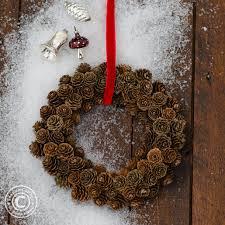Kranz Aus Zapfen Selber Machen Für Deine Winter Und