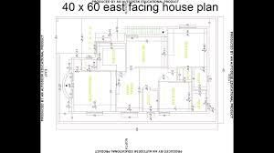 best 40 x 60 east facing house plan best east facing house design hp 2