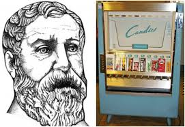 First Vending Machine Dispensed Enchanting 48 Year Ago The First Vending Machine Dispensed Holy Water