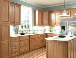 What Color Paint Goes With Light Oak Kitchen Cabinets