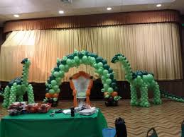 Dinosaur Balloon Sculpture For Baby Shower Party Decoration With