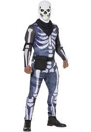Adult Fortnite Skull Trooper Costume