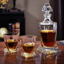 4392 liquor decanter glasses set18153