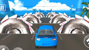 DEADLY RACE #9 Speed Sport <b>Blue Car</b> 3d Gameplay Android IOS ...