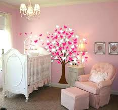 wall decor baby girl nursery for room experiment with new themes homemade