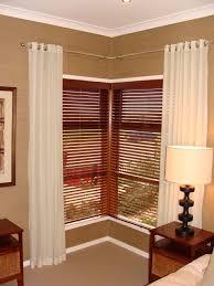 Wood Window Treatments Ideas Windows Window Treatments For Corner Windows Ideas Curtains Corner