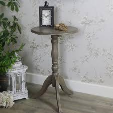 small round wooden pedestal table hornsea range