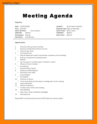 sample agendas for staff meetings 53 staff meeting agenda template dziuk