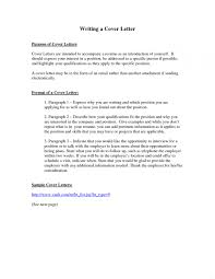 Purpose Of Cover Letter Contemporary What Is The A 1 For Resume