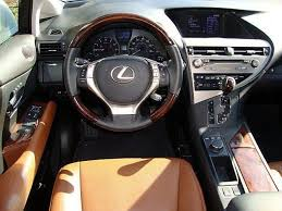 2013 Lexus Rx 350 Color Chart Lexus Rx 350 With Saddle Tan Leather Interior And Starfire