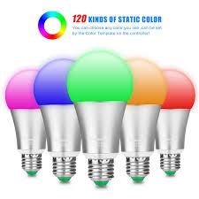 Light Function Download Led Light Bulb Displays 120 Rgb Colors With Remote Control