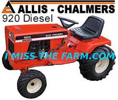 diesel garden tractor. Image Is Loading ALLIS-CHALMERS-920-DIESEL-Garden-Tractor-tee-shirt Diesel Garden Tractor