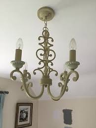 laura ashley four light chandelier