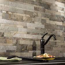 Slate Wall Tiles Kitchen Aspect Backsplash Stone Tile In Medley Slate Stone Tiles Stones