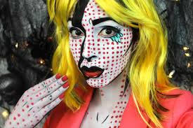 bethany s pop art makeup tutorial and costume bundle create this modern look
