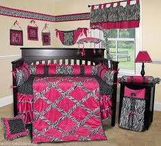 pink crib bedding sets baby boutique hot pink zebra crib bedding set pink elephant crib bedding