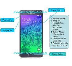 Hard reset Samsung Galaxy Alpha S801