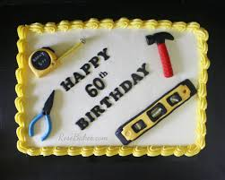 tools cake for 60th birthday happy father s day