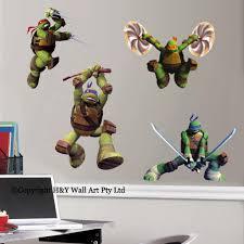 Ninja Turtle Bedroom Decor Wall Decal Awesome Ninja Turtle Wall Decals Ninja Turtles Wall