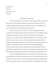 bureaucracy essay chyna sherrell soc  3 pages theoretical perspective essay