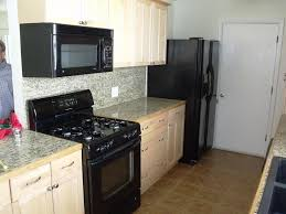 Kitchen Colors Black Appliances Kitchen Ideas With Black Appliances