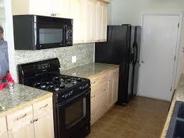 Small Kitchen Appliances Small Kitchens With Black Appliances Ideas New Kitchen Ideas