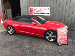 2012 Chevy Camaro convertible 5k miles – Waterhouse Motors LLC