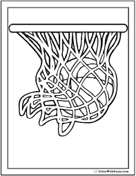 coloring pages of basketball.  Basketball Basketball Coloring Page 3 And Pages Of F